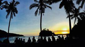 Sunset at Nusa Penida